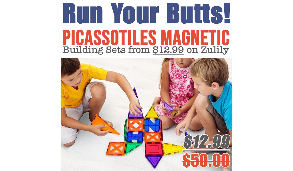PicassoTiles Magnetic Building Sets from $12.99 on Zulily (Regularly $50+)