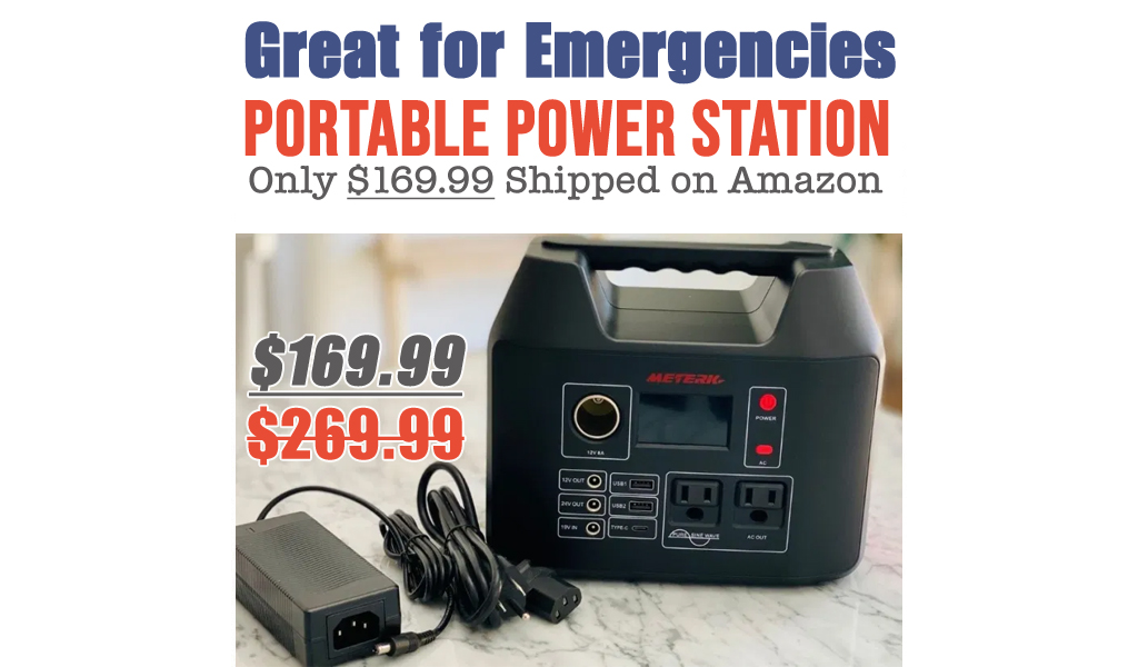 Portable Power Station Only $169.99 Shipped on Amazon (Regularly $269.99)