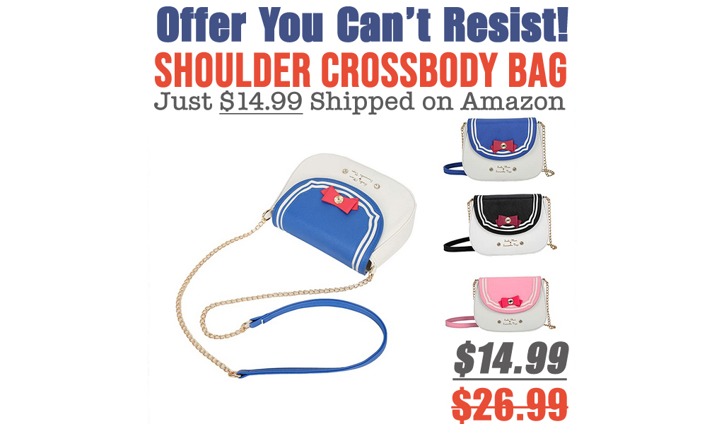 Shoulder Crossbody Bag Just $14.99 Shipped on Amazon (Regularly $26.99)