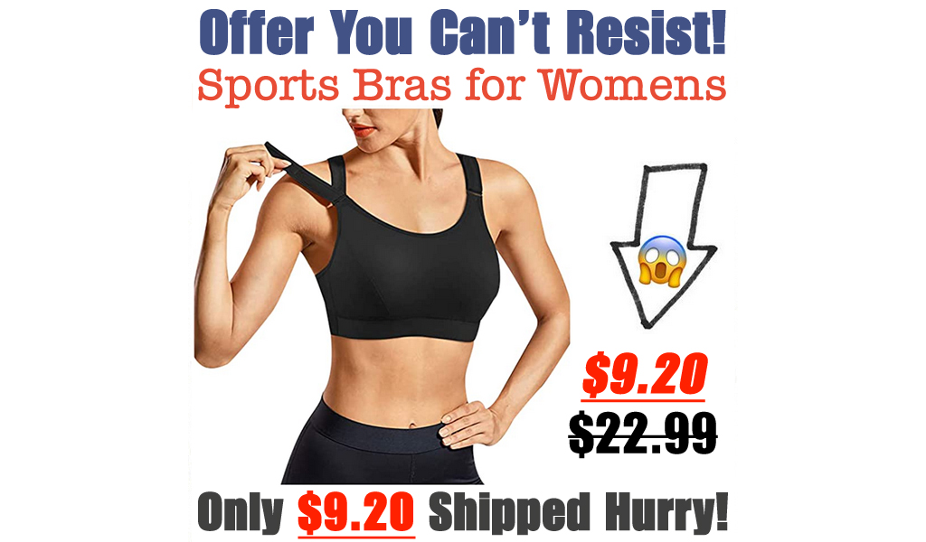 Sports Bras for Womens Only $9.20 Shipped on Amazon (Regularly $22.99)