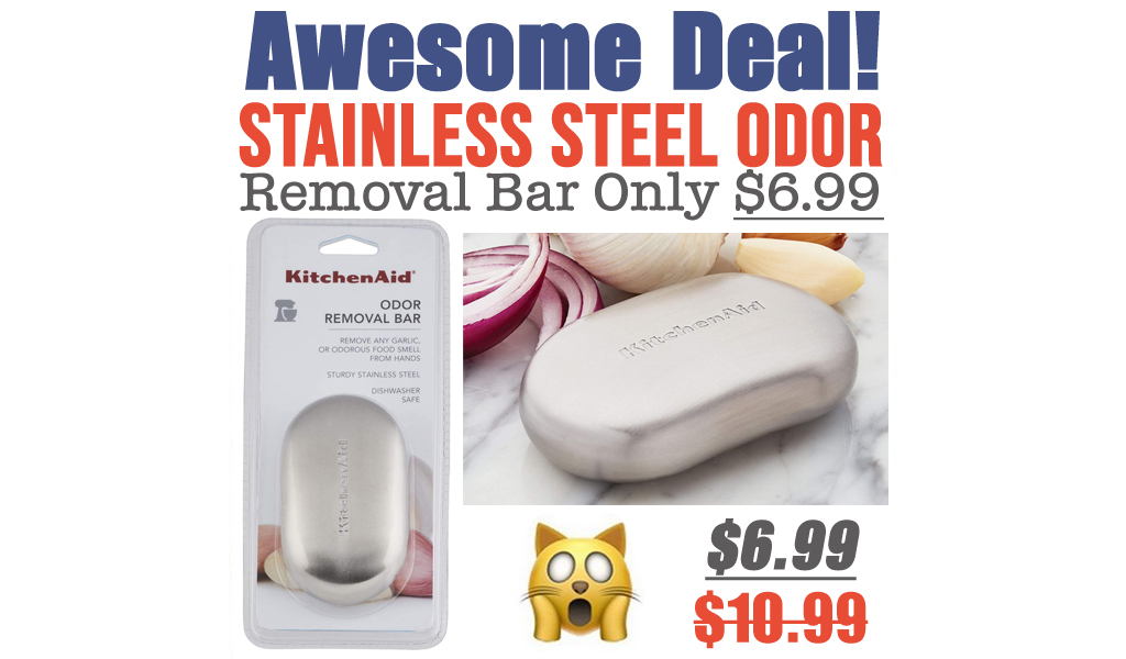 Stainless Steel Odor Removal Bar Only $6.99 on Amazon (Regularly $10.99)