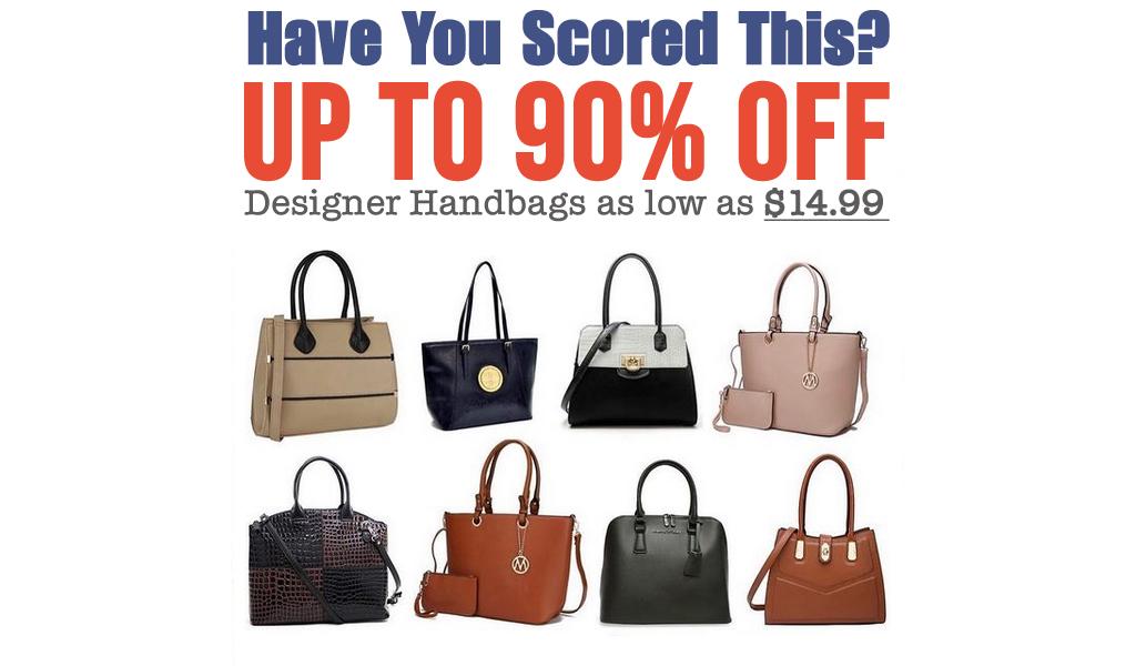 Up To 90% Off - Designer Handbags on Zulily