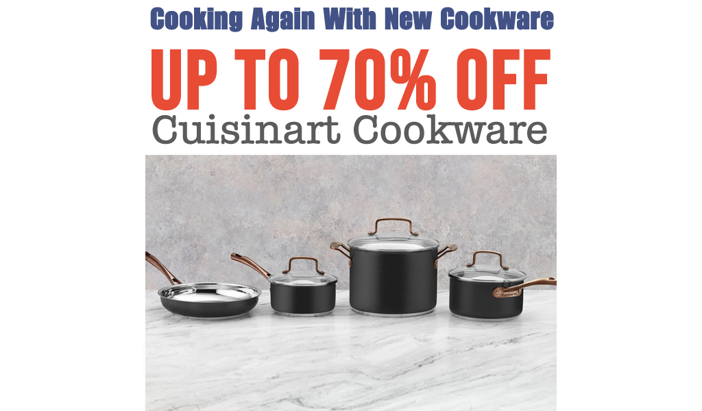Up to 70% off Cuisinart Cookware on Macys