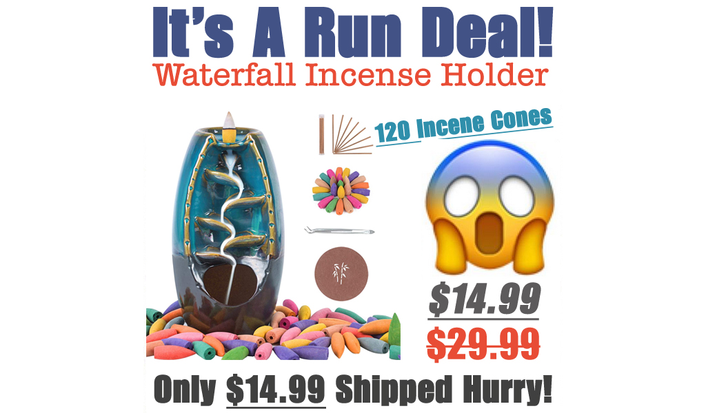 Waterfall Incense Holder Only $14.99 Shipped on Amazon (Regularly $29.99)
