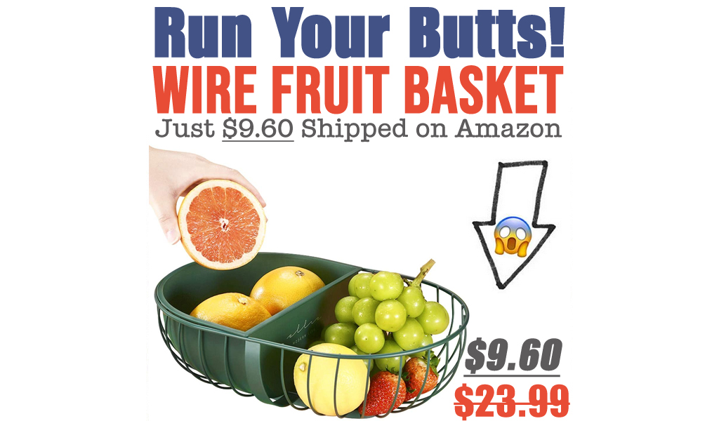 Wire Fruit Basket Just $9.60 Shipped on Amazon (Regularly $23.99)