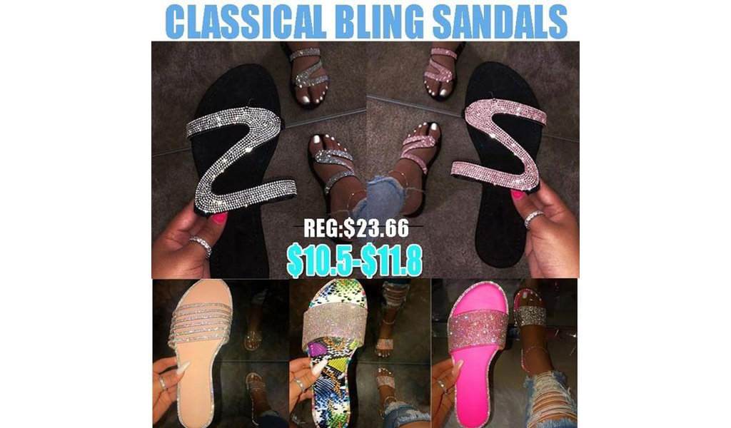 Women Classical Bling Sandals +Free Shipping!