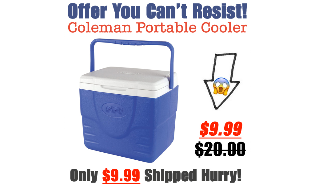 Coleman Portable Cooler Only $9.99 on Amazon (Regularly $20)