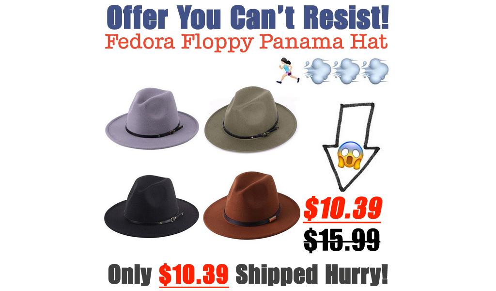Fedora Floppy Panama Hat Only $10.39 Shipped on Amazon (Regularly $15.99)