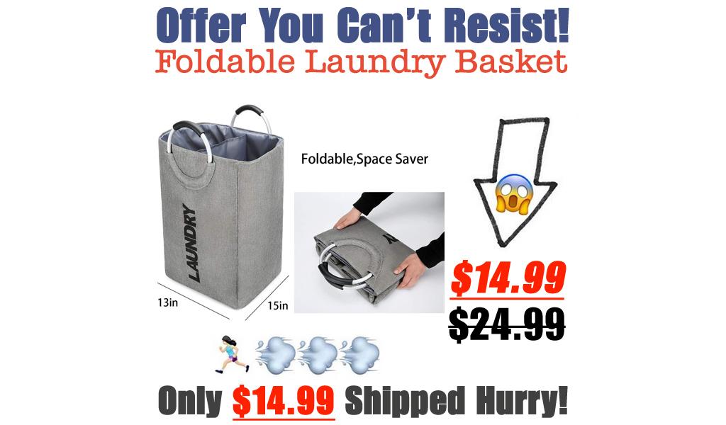 Foldable Laundry Basket Only $14.99 Shipped on Amazon (Regularly $24.99)