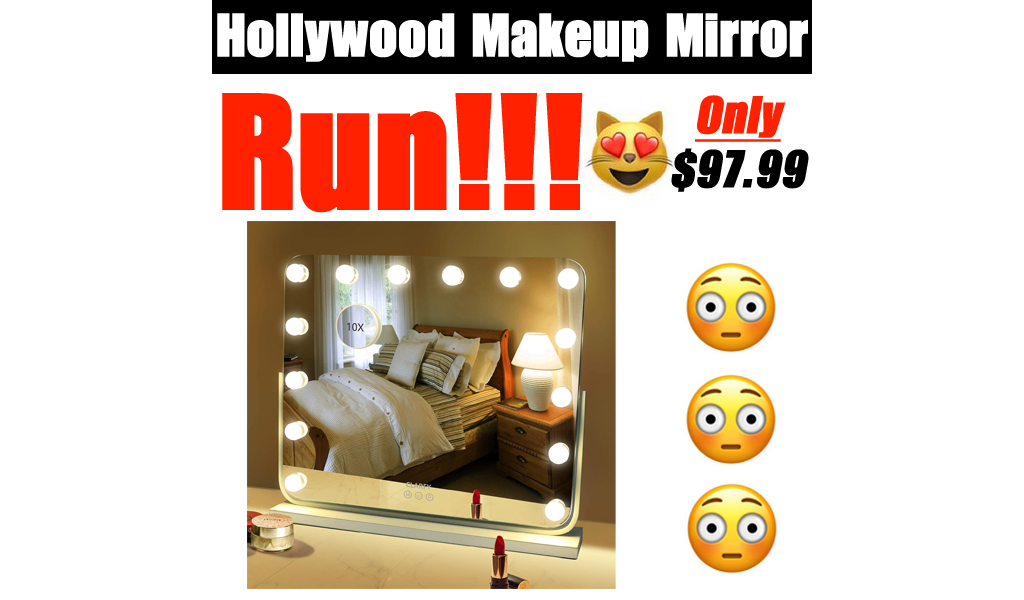 Hollywood Makeup Mirror Only $97.99 Shipped on Amazon (Regularly $139.99)