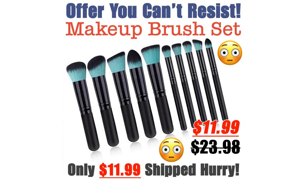 Makeup Brush Set Only $11.99 Shipped on Amazon (Regularly $23.98)