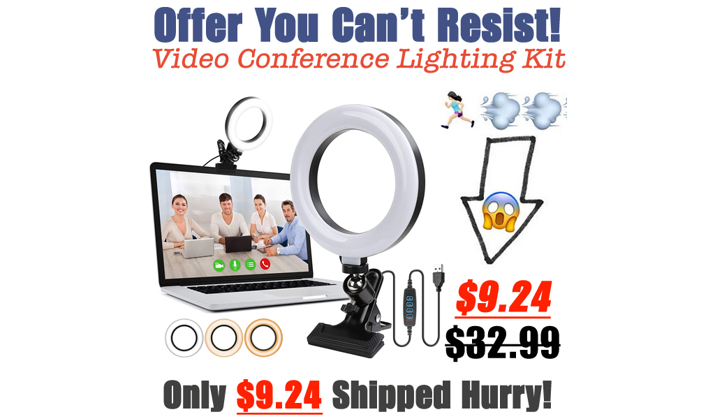 Video Conference Lighting Kit Only $9.24 Shipped on Amazon (Regularly $32.99)