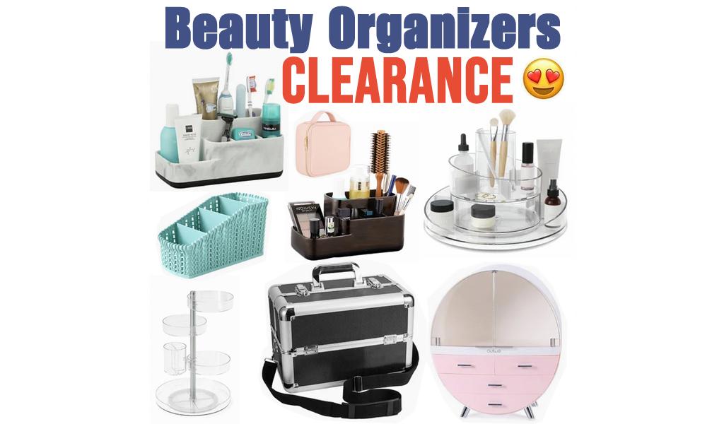 Beauty Organizers for Less on Wayfair - Big Sale