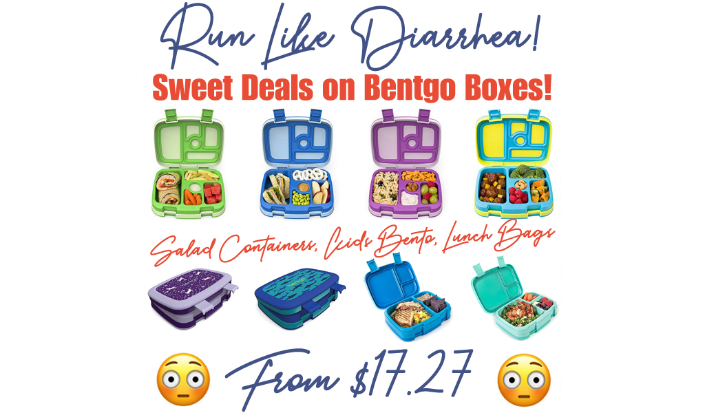 Bentgo Boxes from $12.99 on Zulily.com | Salad Containers, Kids Bento, Lunch Bags & More