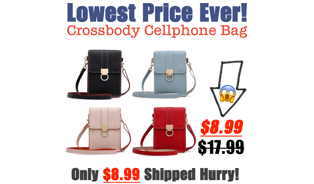 Crossbody Cellphone Bag Only $8.99 Shipped on Amazon (Regularly $17.99)