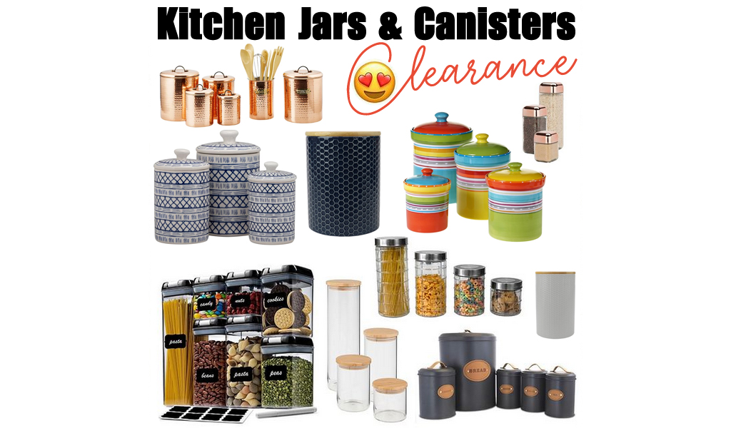 Kitchen Canisters & Jars for Less on Wayfair – Big Sale