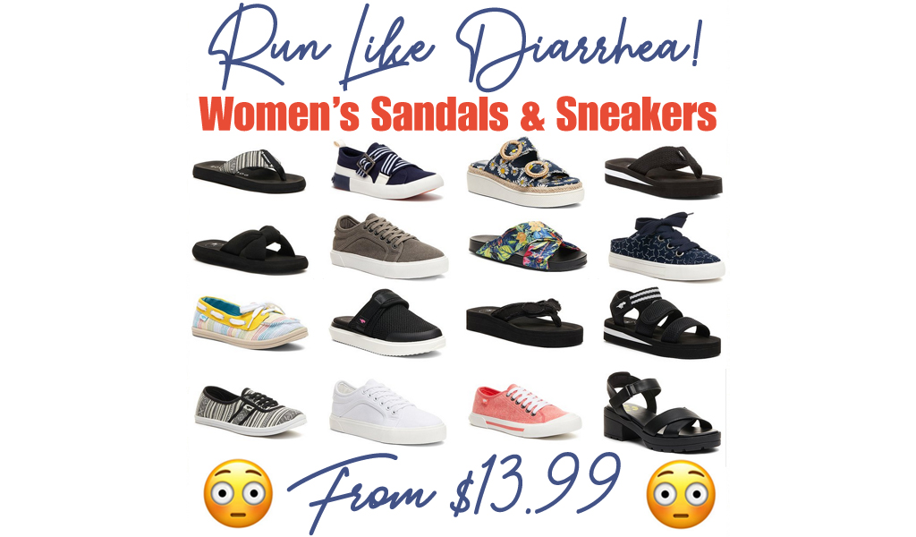 Rocket Dog Women's Sandals & Sneakers from $13.99 on Zulily.com