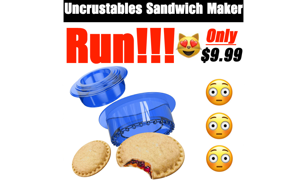 Uncrustables Sandwich Maker Only $9.99 Shipped on Amazon