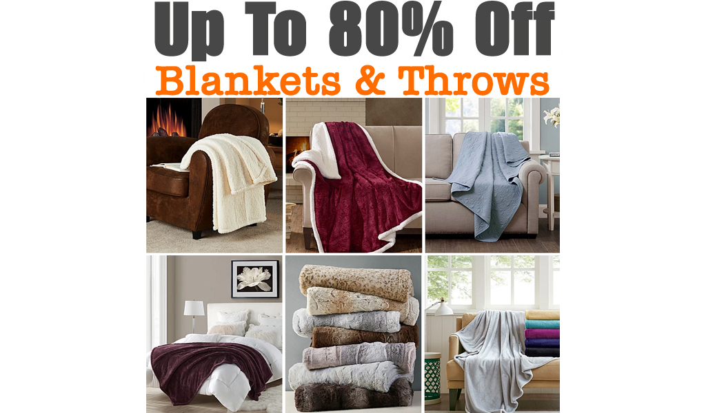 Up To 80% Off Blankets & Throws at Macy's