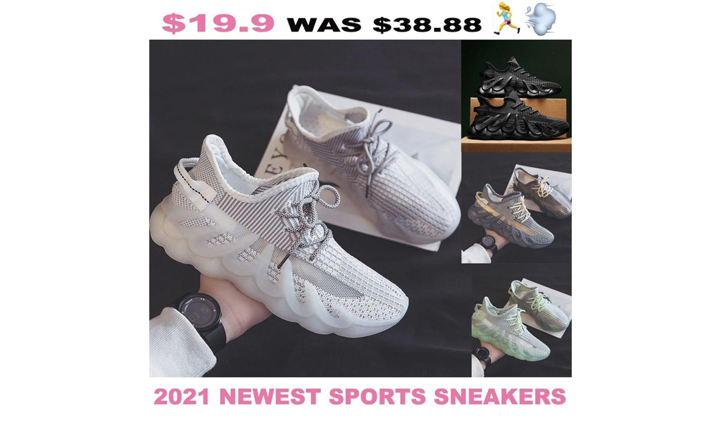 2021 Newest Lightweight Breathable Men Comfortable Sports Sneakers+Free Shipping!
