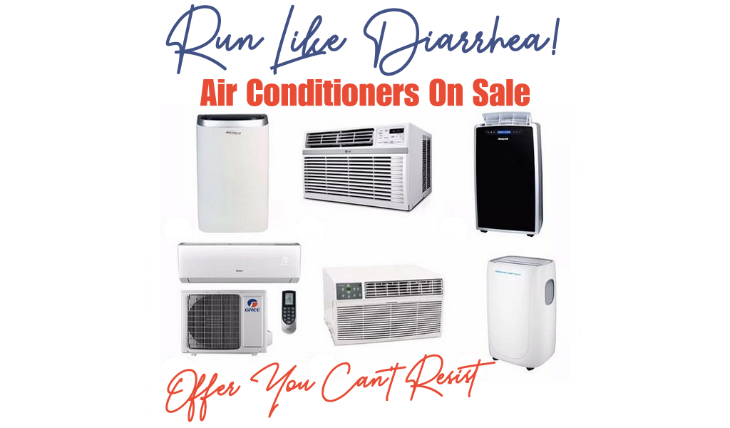 Air Conditioners for Less on Wayfair - Big Sale
