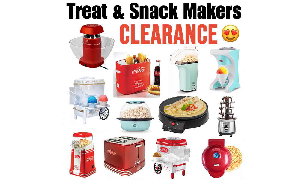 Awesome Deals on Treat & Snack Makers on Kohls