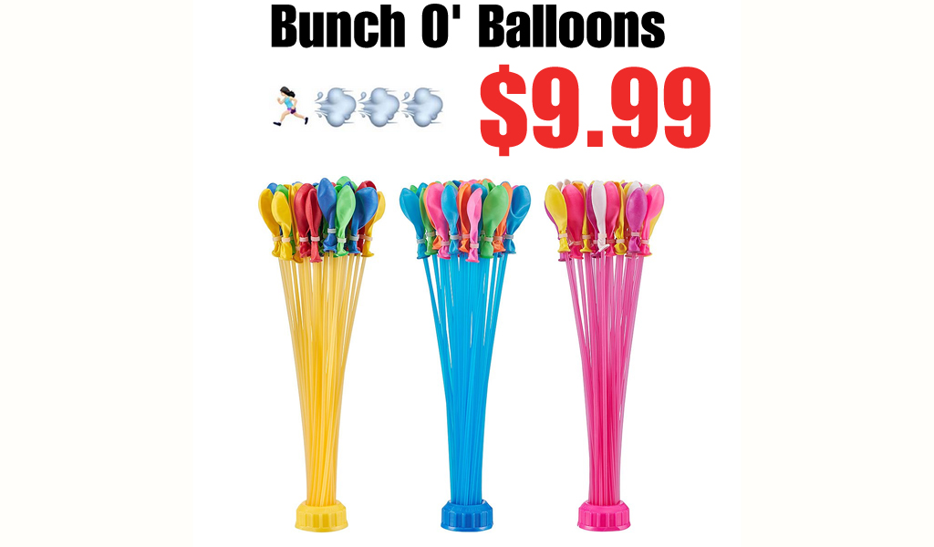 Bunch O' Balloons Only $9.99 on Zulily