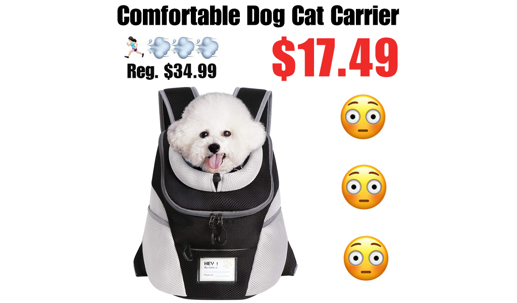 Comfortable Dog Cat Carrier Only $17.49 Shipped on Amazon (Regularly $34.99)