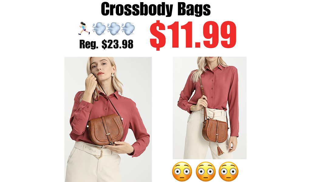 Crossbody Bags Only $11.99 Shipped on Amazon (Regularly $23.98)