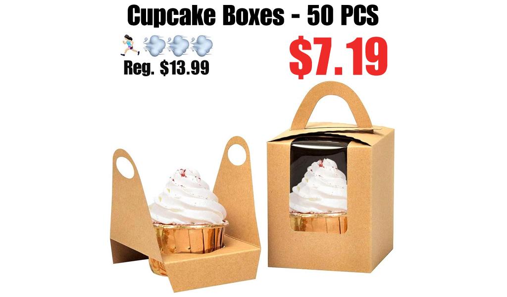 Cupcake Boxes - 50 PCS Only $7.19 Shipped on Amazon (Regularly $13.99)
