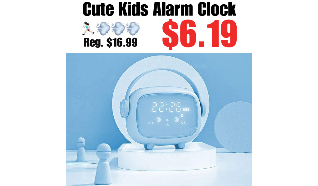 Cute Kids Alarm Clock Only $6.19 Shipped on Amazon (Regularly $16.99)