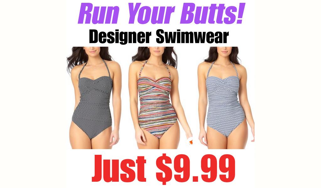 Designer Swimwear Only $9.99 on Zulily (Regularly $98)