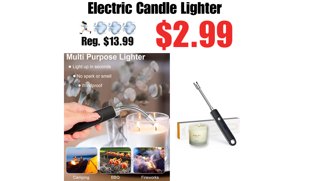 Electric Candle Lighter Only $2.99 Shipped on Amazon (Regularly $13.99)