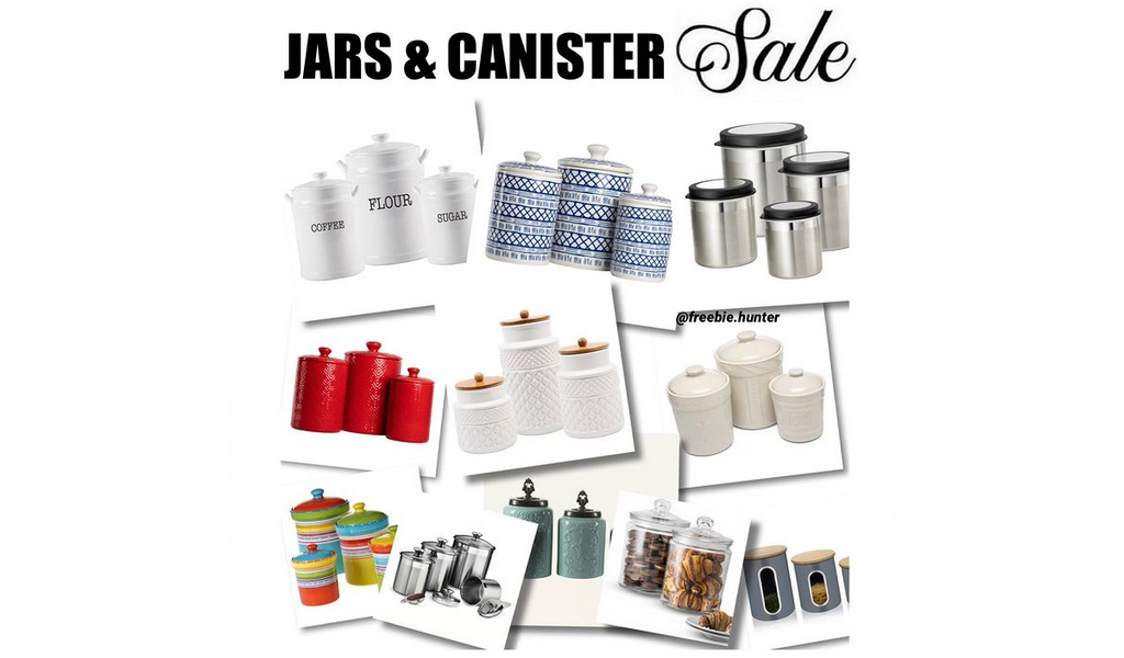 Kitchen Canisters & Jars for Less on Wayfair - Big Sale