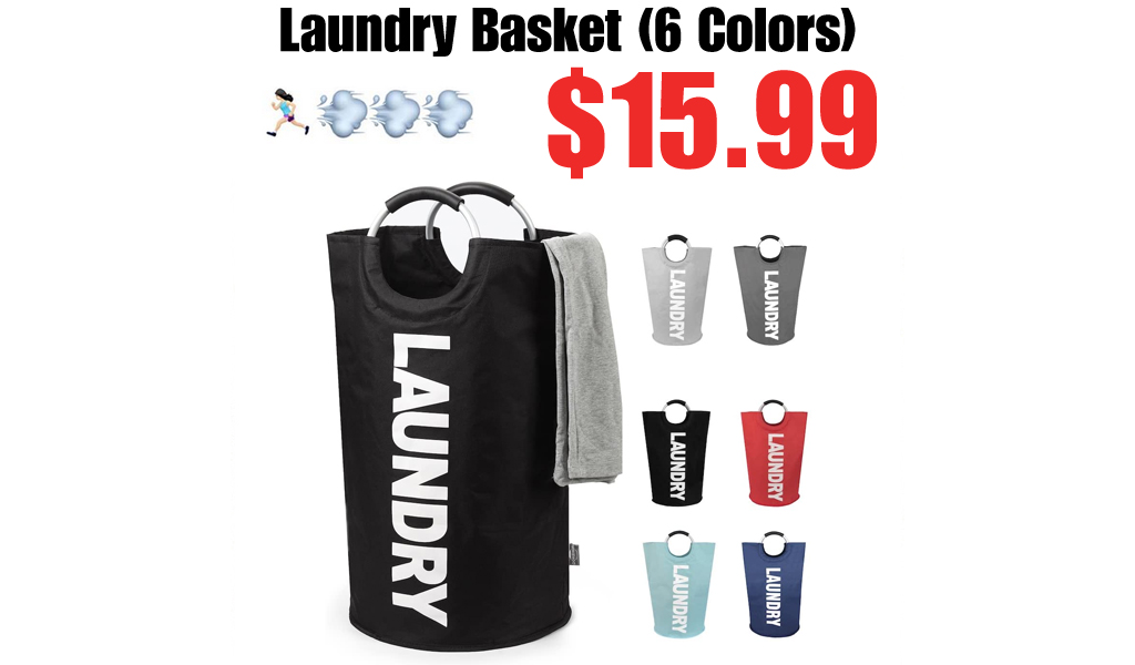 Laundry Basket (6 Colors) Only $15.99 Shipped on Amazon