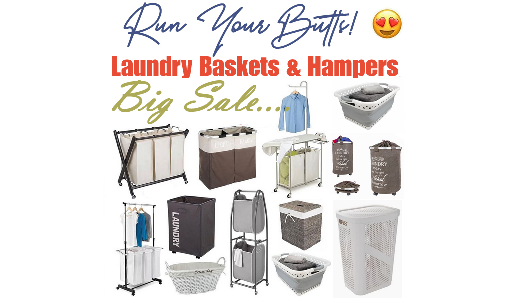 Laundry Baskets & Hampers for Less on Wayfair - Big Sale