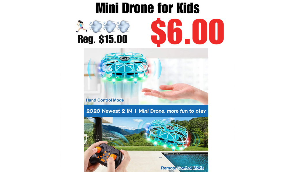 Mini Drone for Kids Only $6.00 Shipped on Amazon (Regularly $15.00)