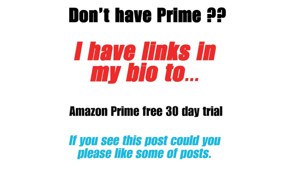 Not an Amazon Prime Member?