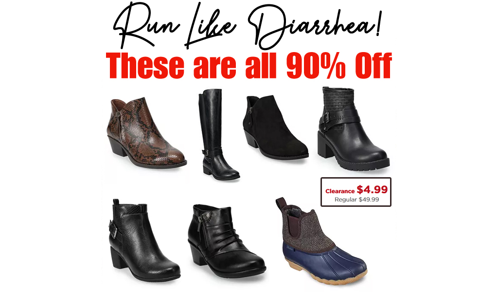 Over 90% Off On Shoes at Kohl's