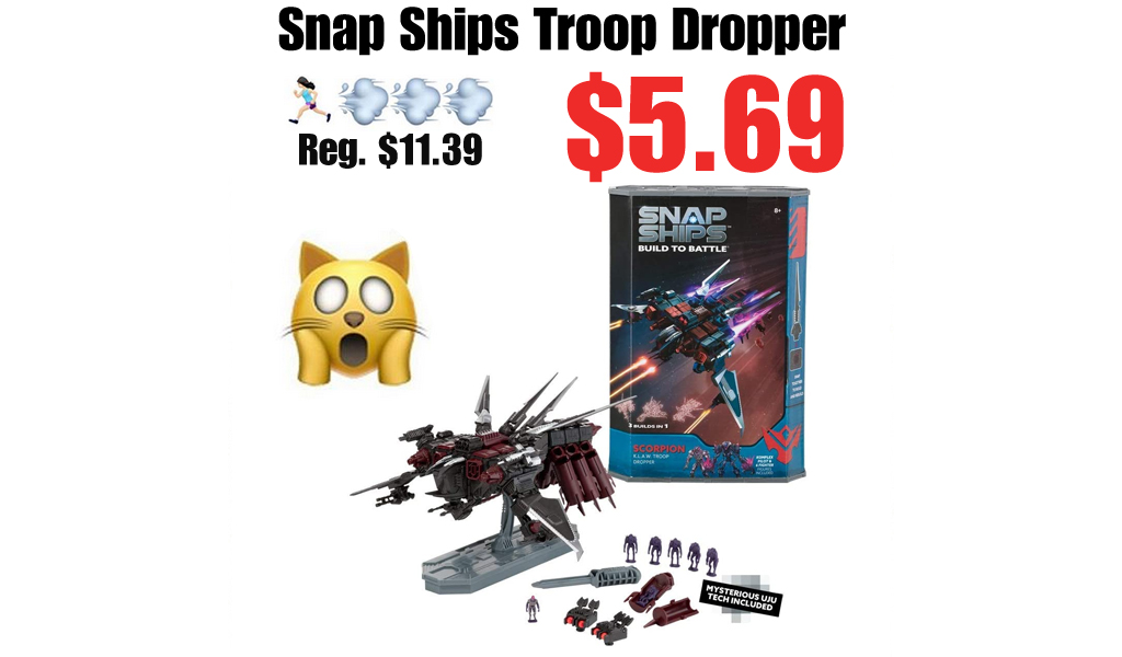 PlayMonster Snap Ships Troop Dropper Only $5.69 on Amazon or Target.com (Regularly $11)