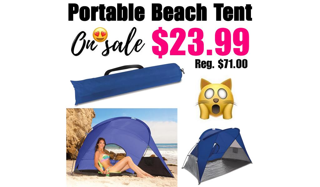 Portable Beach Tent Only $23.99 on Macys.com (Regularly $71.00)