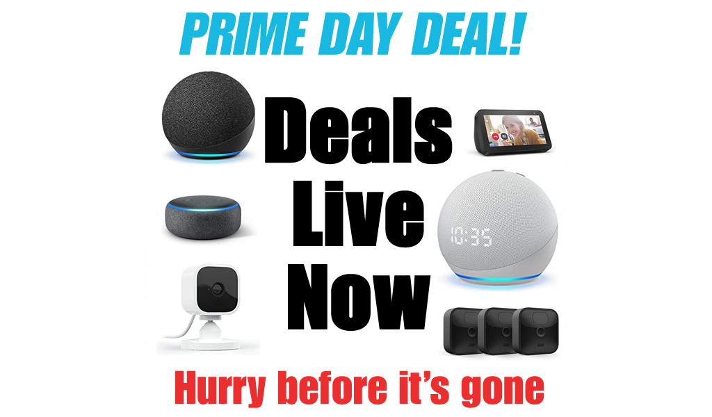 Prime Day Deals Live Now