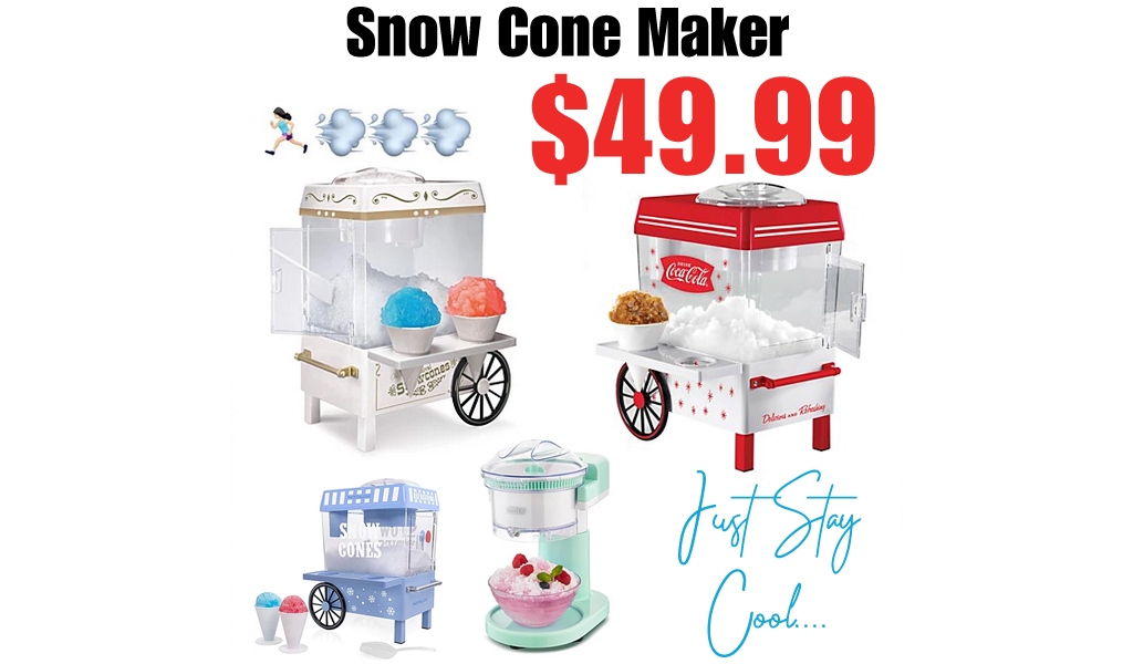 Snow Cone Maker Only $49.99 on Macys
