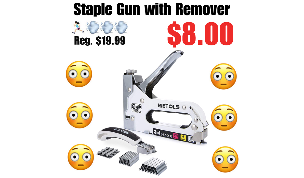 Staple Gun with Remover Only $8.00 Shipped on Amazon (Regularly $19.99)