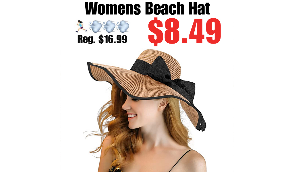 Womens Beach Hat Only $8.49 Shipped on Amazon (Regularly $16.99)