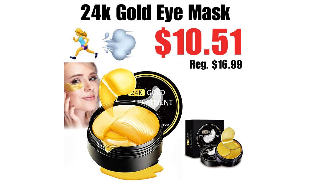 24k Gold Eye Mask Only $10.51 Shipped on Amazon (Regularly $16.99)