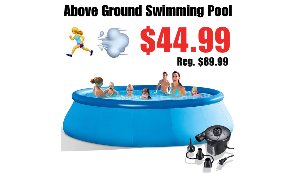 Above Ground Swimming Pool Only $44.99 Shipped on Amazon (Regularly $89.99)