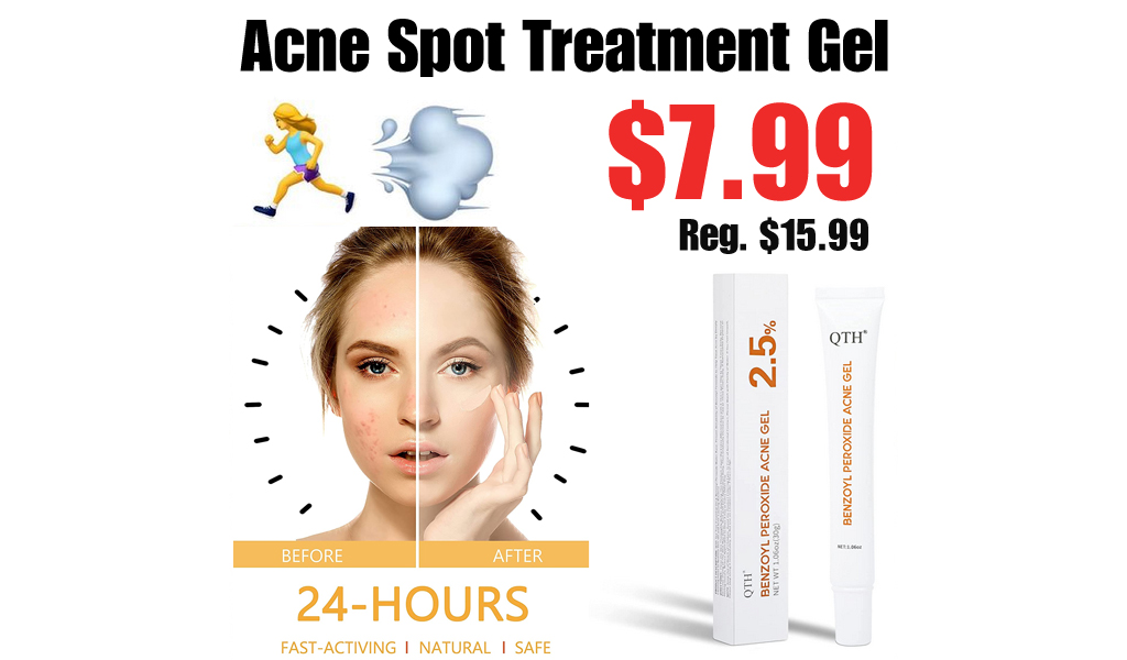 Acne Spot Treatment Gel Only $7.99 on Amazon (Regularly $15.99)