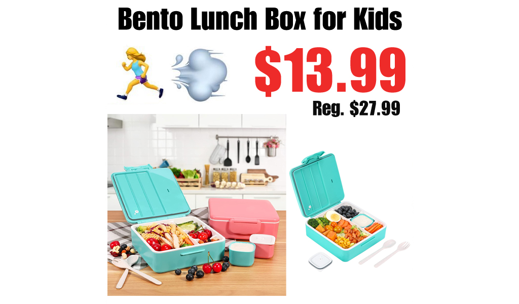 Bento Lunch Box for Kids Only $13.99 Shipped on Amazon (Regularly $27.99)