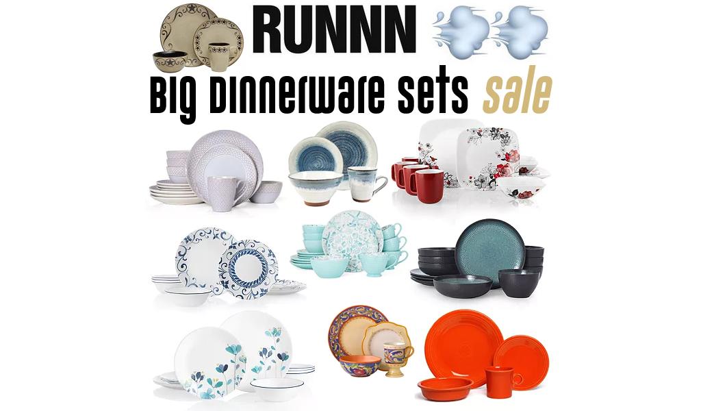 Big Dinnerware Sets Sale at Kohl's